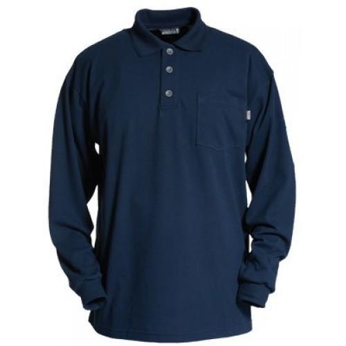 Tranemo Cantex Flame-Retardant Poloshirt Long Sleeve