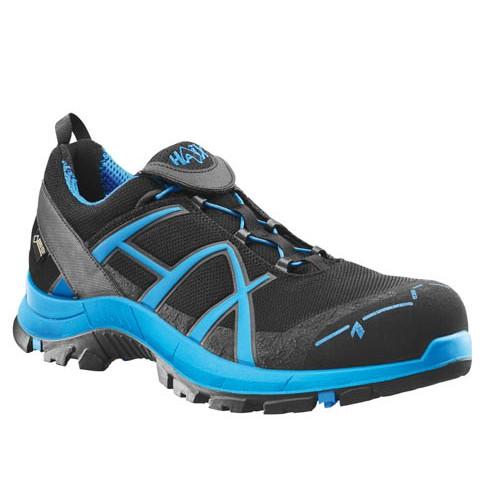 haix black eagle safety trainers 40 low blue composite toe cap   midsole  metal free 0b49920930