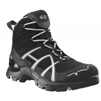 Haix Black Eagle Black/Silver GORE-TEX ESD Safety Boots 610019