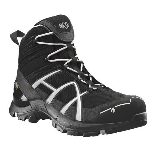 Haix Black Eagle Black/Silver GORE-TEX ESD Safety Boots 610019