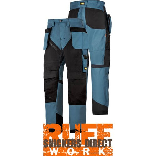 Snickers 6203 Ruffwork Holster Pocket Trousers, New Snickers Ruffwork Trouser