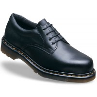Dr Martens Icon Black Smooth Leather Ankle Safety Shoes 6734