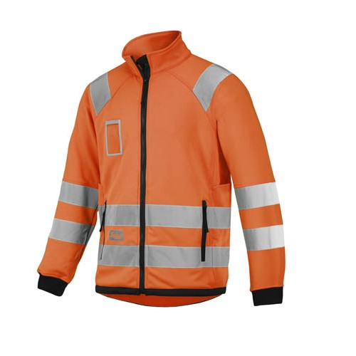 Snickers 8063 High-Vis Micro Fleece Jacket, Class 3