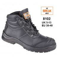 HIMALAYAN 5401 Reflecto S3 black leather safety boot with midsole size 6-13