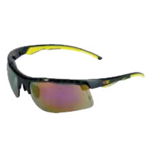 Cofra Lightning Mirrored Red Safety Glasses