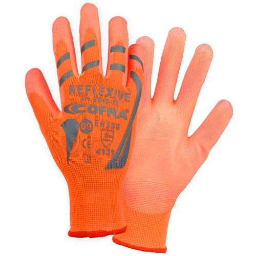Cofra Hi-Vis Orange Gloves 12pk