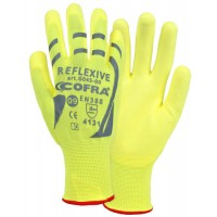 Cofra Hi-Vis Yellow Gloves 12pk