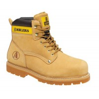 SAF Amblers FS156 Honey Safety Boots With Steel Toe Caps