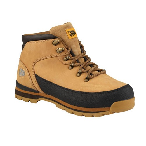JCB 3CX Safety Boots Honey With Steel Toe Caps Midsole