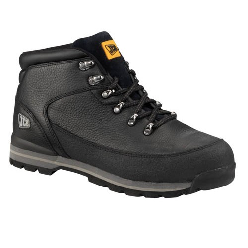 JCB 3CX Safety Boots Boots Black With Steel Toe Caps Midsole