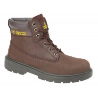Amblers FS113 Steel Toe Cap Brown Safety Boots