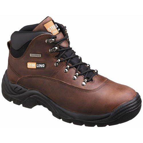 Sterling Waterproof SS813SM Safety Boots With Steel Toe Cap