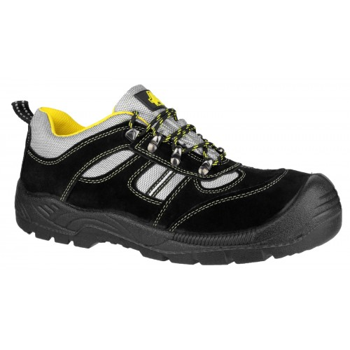 FS111 Lightweight Antistatic Lace up Safety Trainer With Toe Cap
