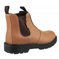 SAF Amblers FS115 Dual Density Pull on Chelsea Safety Boots