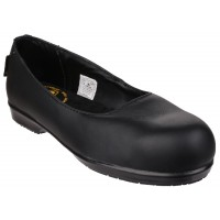 FS109C Non Metal Lightweight Slip on Ladies Safety Shoe With Toecap And Midsole
