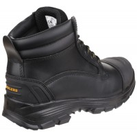 AS201 Quantok Water-Resistant Lace up Safety Boot With Toecap And Midsole