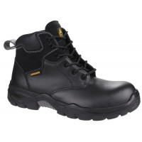 AS302C Metal-free Water-Resistant Lace up Safety Boot With Toecap And Midsole