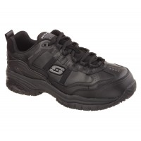 Skechers Soft Stride Black Safety Shoes