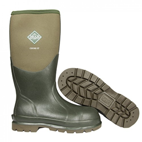 f5607eb7bf3 Details about Muck Boots Chore Steel Toe Cap Wellington Boots