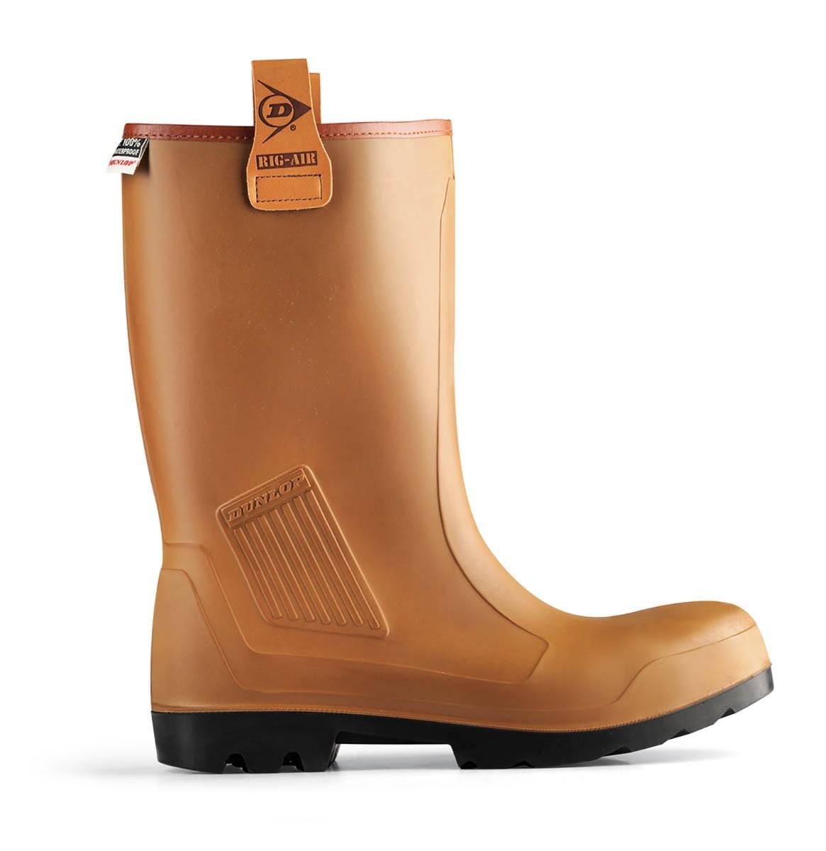B-Dri Dunlop Purofort Waterproof Safety Rigger Boot C462743