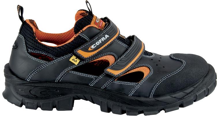 2db06a9098e Zapatos de Vithar ESD COFRA abren lados con tapas de compuesto del dedo del  pie y entresuela metálica libre zapatos