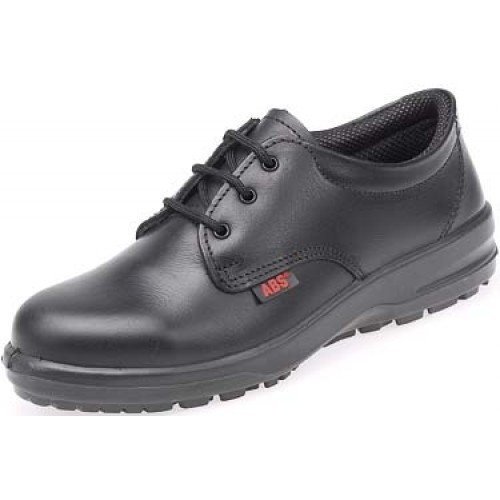 Catering safety shoes abs121pr black ladies with steel for Shoes for work in kitchen